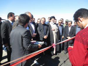 افتتاح 43 کیلومتر از مسیر بزرگراه یزد – بافق