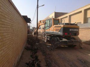 زیرسازی و روسازی روستاهای شهرستان مبارکه