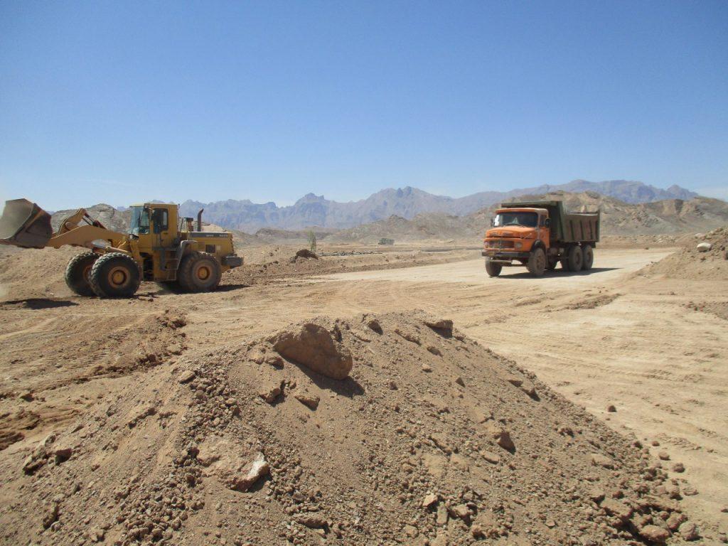 پروژه آماده سازی فاز یک و دو طرح جامع پارک علم و فناوری یزد