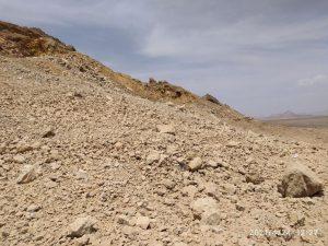 انفجار مرحله سیزدهم کوه کمر ساغندی بافق